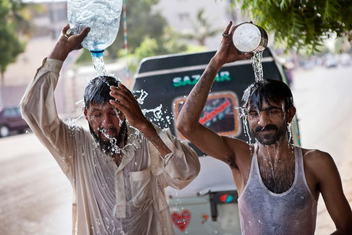 The report also linked the deadly 2015 heat wave in India and Pakistan to global warming.