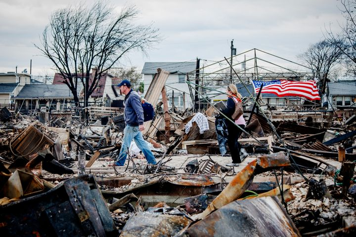 Hurricane Sandy caused more than $60 billion in economic losses, according to the UN report.