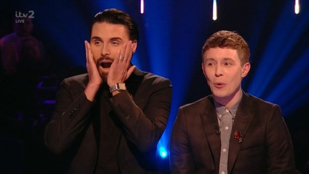 Michelle's question drew gasps from Rylan and