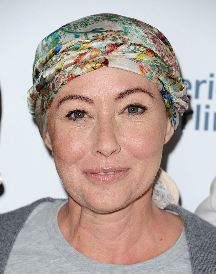 Shannen Doherty attends Hollywood Unites For The 5th Biennial Stand Up to Cancer.