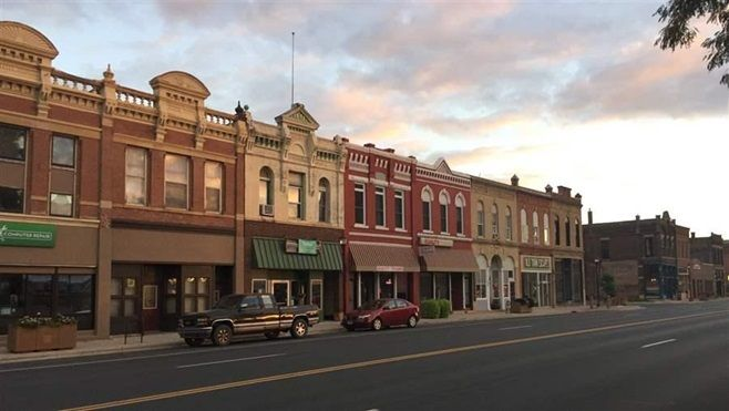 Mankato, Minnesota's historic downtown. Communities across America want to better connect workers looking for jobs and employ