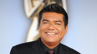 Actor George Lopez arrives at the 2011 National Council of La Raza ALMA Awards in Santa Monica, California September 10, 2011. REUTERS/Gus Ruelas (UNITED STATES - Tags: ENTERTAINMENT)