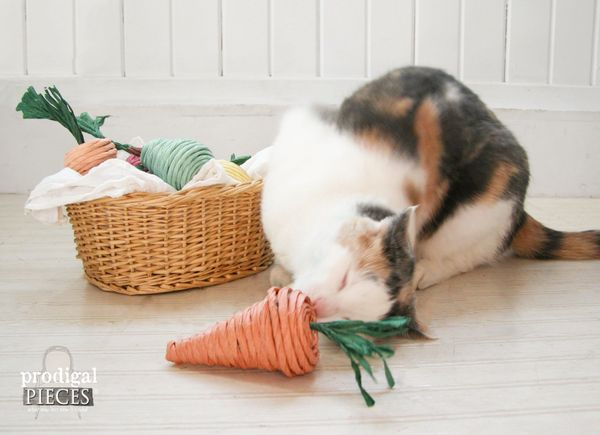7 Purr-fect DIY Holiday Gifts To Make This Season ... For Your Cat ...