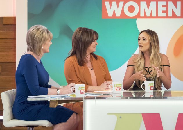 Charlotte Crosby has attacked the 'Loose