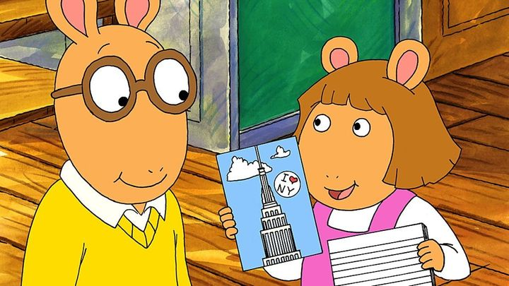 "A still from the television show, ""Arthur."""