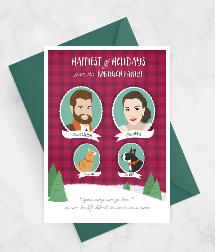 "<a href=""https://www.etsy.com/listing/197949129/funny-christmas-card-with-family?ga_order=most_relevant&amp;ga_search_type=all&amp;ga_view_type=gallery&amp;ga_search_query=holiday%20cards&amp;ref=sc_gallery_2&amp;plkey=52b27a2d746f4f67a8406b1af33b358c9c99267a:197949129"" target=""_blank"">Funny Christmas Card with Family Portrait</a>, $89+ on <a href=""https://www.etsy.com/?ref=lgo"" target=""_blank"">Etsy</a>"