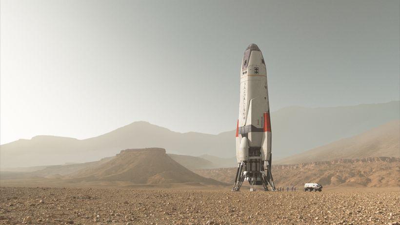 The Daedulus on Mars.