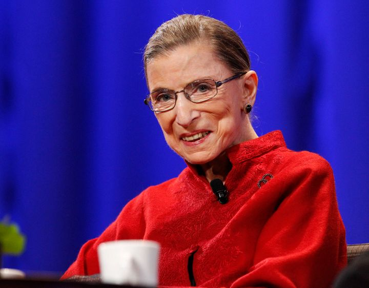Justice Ruth Bader Ginsburg in 2010.