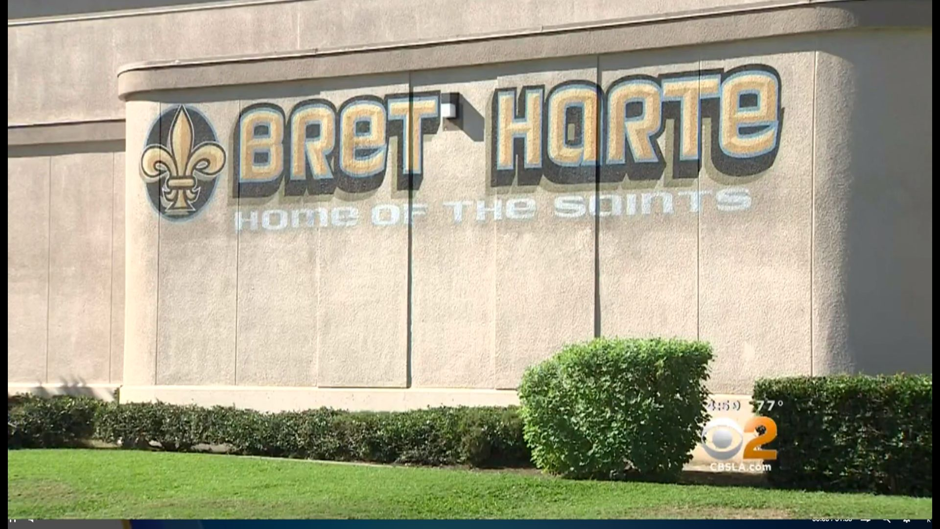 A substitute teacher at Bret Harte Preparatory Middle School in Los Angeles reportedly toldstudents that their parents