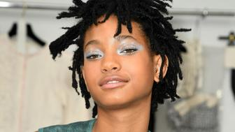 PARIS, FRANCE - JULY 05:  Willow Smith attends the Chanel Haute Couture Fall/Winter 2016-2017 show as part of Paris Fashion Week on July 5, 2016 in Paris, France.  (Photo by Rindoff/Le Segretain/Getty Images)