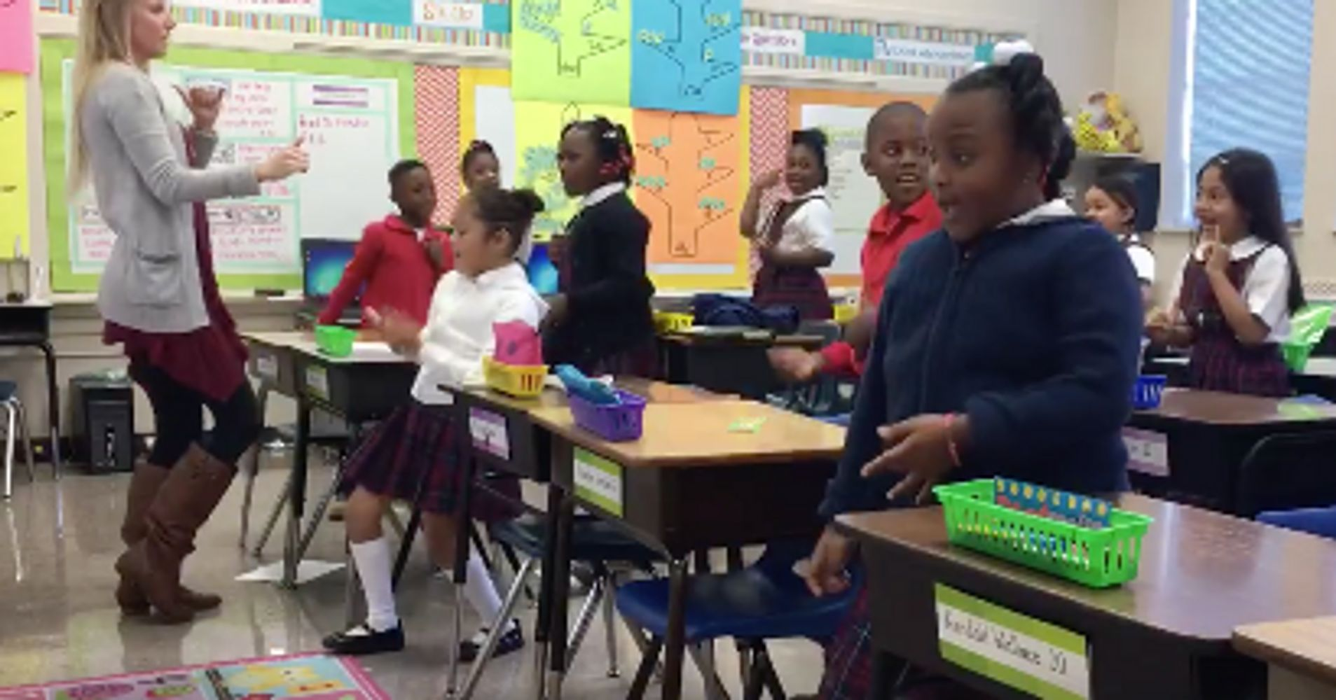 These Teachers Are Motivating Students With A Dance Filled Morning Routine