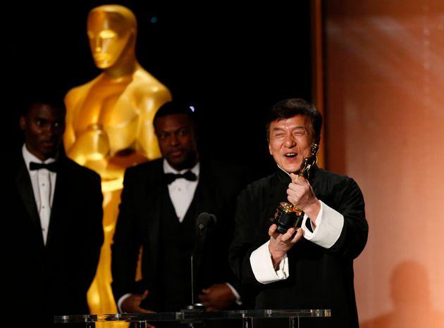 Jackie Chan Finally Got His Oscar