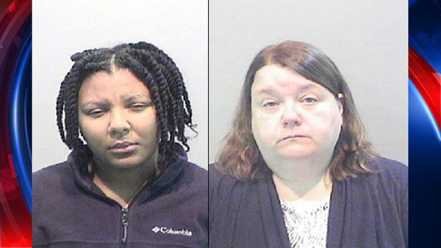 Elaina Brown 24 and Kelly M Williams 47 face involuntary manslaughter and seconddegree child abuse charges