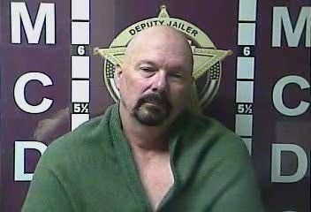 Ken Anderson, following his Tuesday arrest in Kentucky.