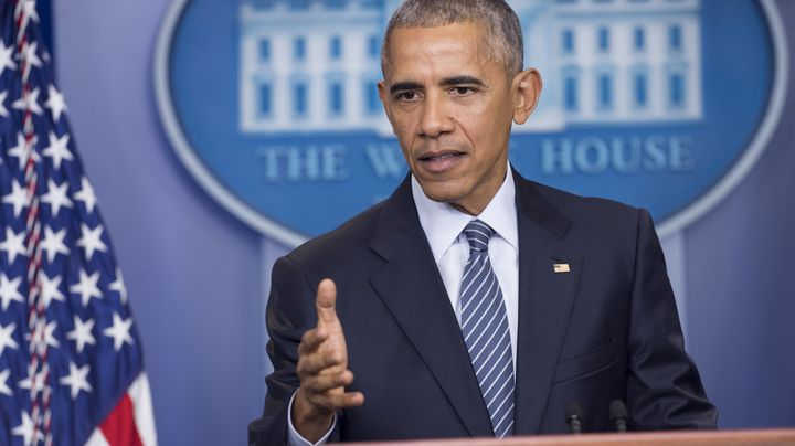 President Barack Obama held a call with Democrats Monday.