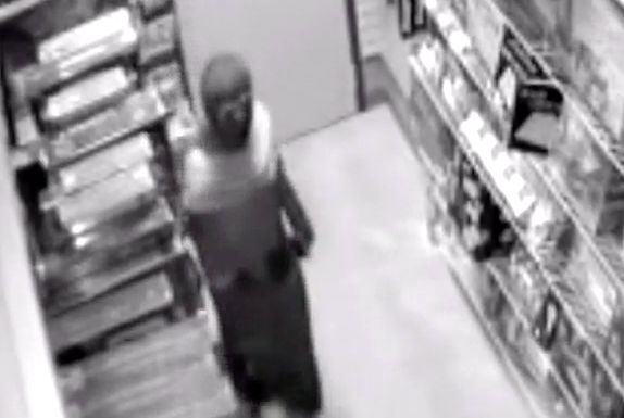 Police in Anchorage are looking for this ninja who stole a sword from a comic book store Friday night