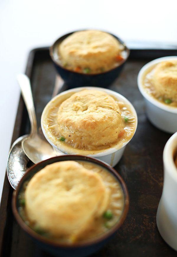 "<strong>Get the <a href=""http://minimalistbaker.com/1-hour-vegan-pot-pies/"" target=""_blank"">One-Hour Vegan Pot Pies recipe</a"