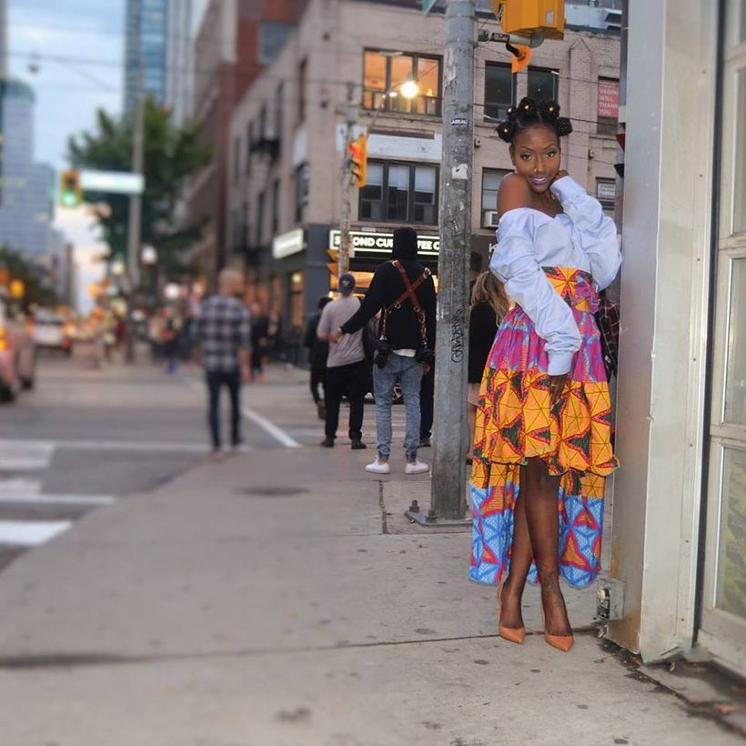 Simone Webb, Stylist and Co-CEO, Co-Creative Director and Social Media and Marketing Manager for Acid Cupcakes