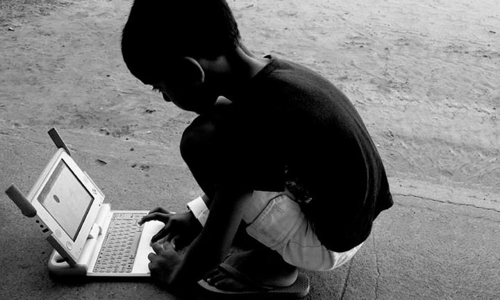 <p>Students in Artigas, Uruguay were some of the first to benefit from the One Laptop Per Child initiative</p>