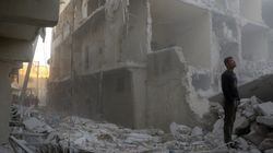 Air Strikes Pummel Aleppo After A Weeks-Long