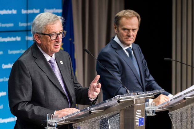 Jean-Claude Juncker and Donald
