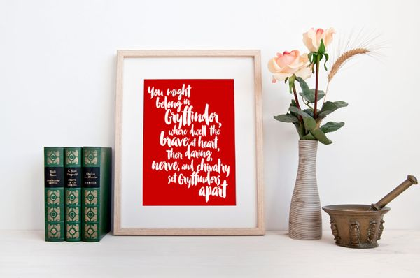 "Gryffindor Motto Print, $4.64, <a href=""https://www.etsy.com/listing/234516140/harry-potter-quote-print-instant-digital?ga_or"