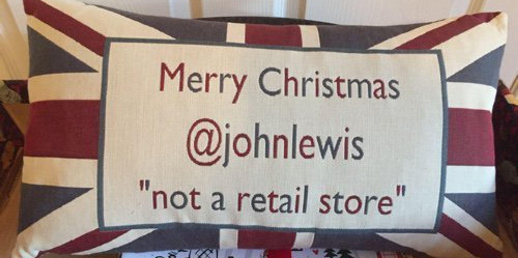 John Lewis Says Thank You To John Lewis, Who Suffers Through Every Christmas Advert