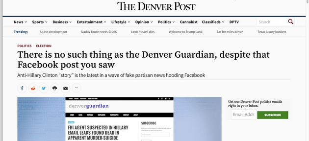 Here Are Some Of Those Fake News Stories That Mark Zuckerberg Isn't Worried