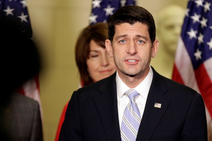 House Speaker Paul Ryan has been quiet about the issue but his conference is expected to vote Wednesday on a proposal to wate