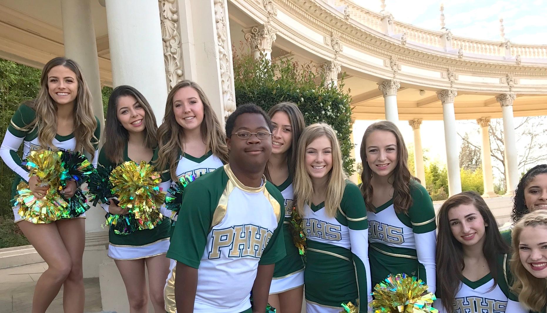 Love this high school lesbian cheerleaders
