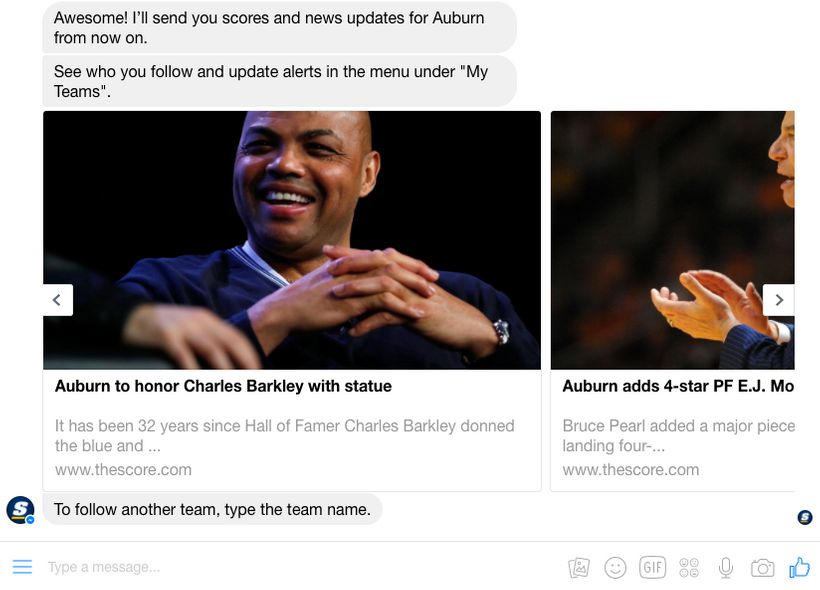 News updates from your favorite teams on theScore.