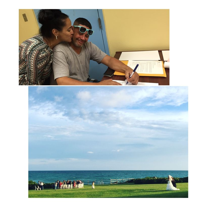 Sandra Rodriguez and Jose Gomez, of Bloomfield, New Jersey, were LEGALLY married in Puerto Rico on November 5, 2016. The whol