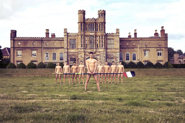 The boys have been stripping off to fight homophobia for seven