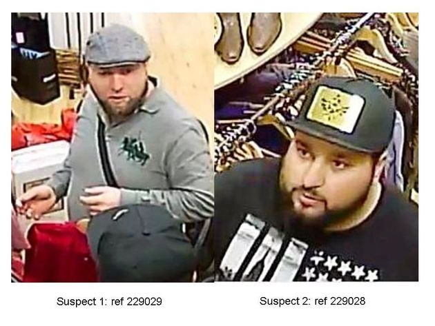 Police want to speak to these two