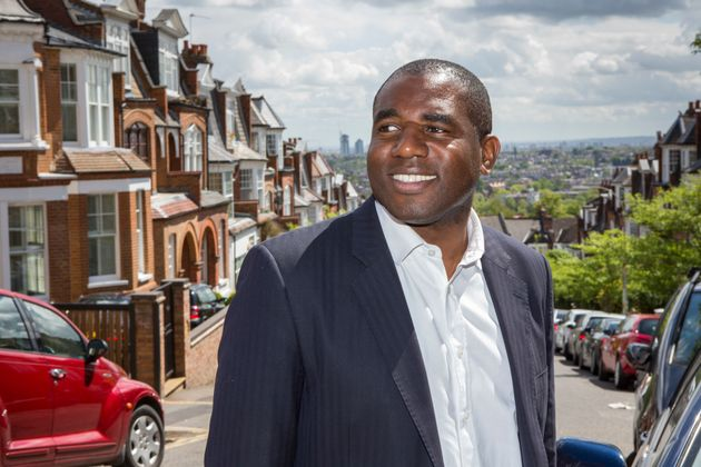 David Lammy said thereis a 'significant disproportionality' between being white and being black...