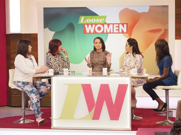 India was a guest on 'Loose Women' last