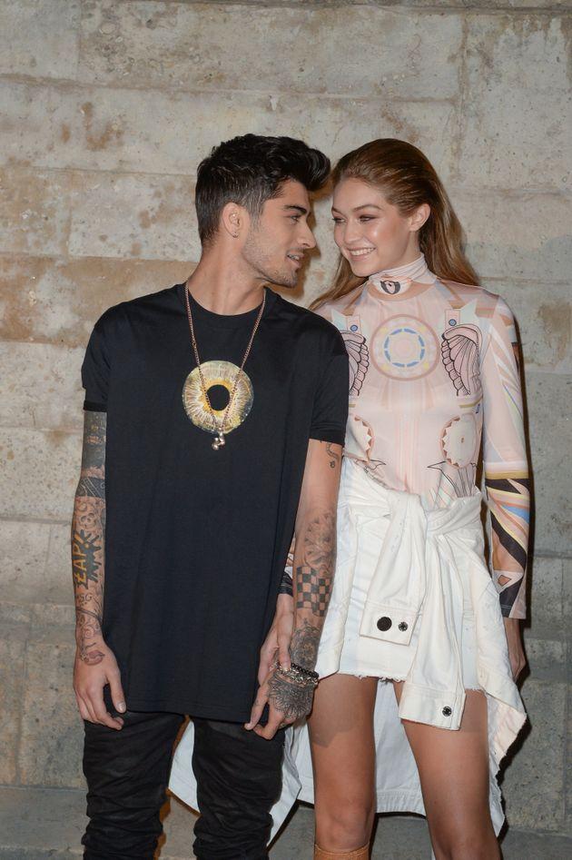 Zayn Malik and Gigi