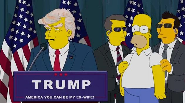 The Simpsons predicted Donald Trump's presidency 16 years before his