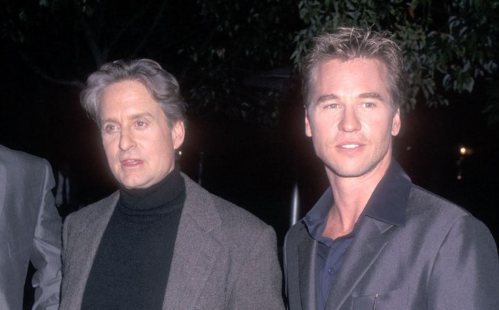 Val Kilmer revealed Tuesday night that Michael Douglas has apologized for incorrectly revealing Kilmer was battling cancer.&n