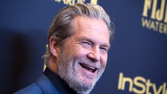Actor Jeff Bridges attends the reveal of Miss Golden Globe 2017 during the celebration of the 2017 Golden Globe Award season by The Hollywood Foreign Press Association (HFPA) and InStyle, in West Hollywood, California, on November 10, 2016. / AFP / VALERIE MACON        (Photo credit should read VALERIE MACON/AFP/Getty Images)