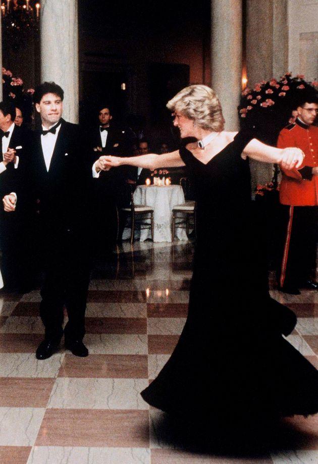 Dancing with John Travolta in