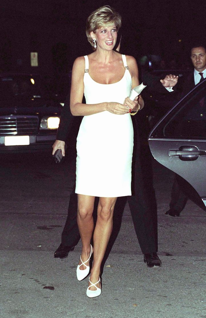 Diana in Versace, 1995.
