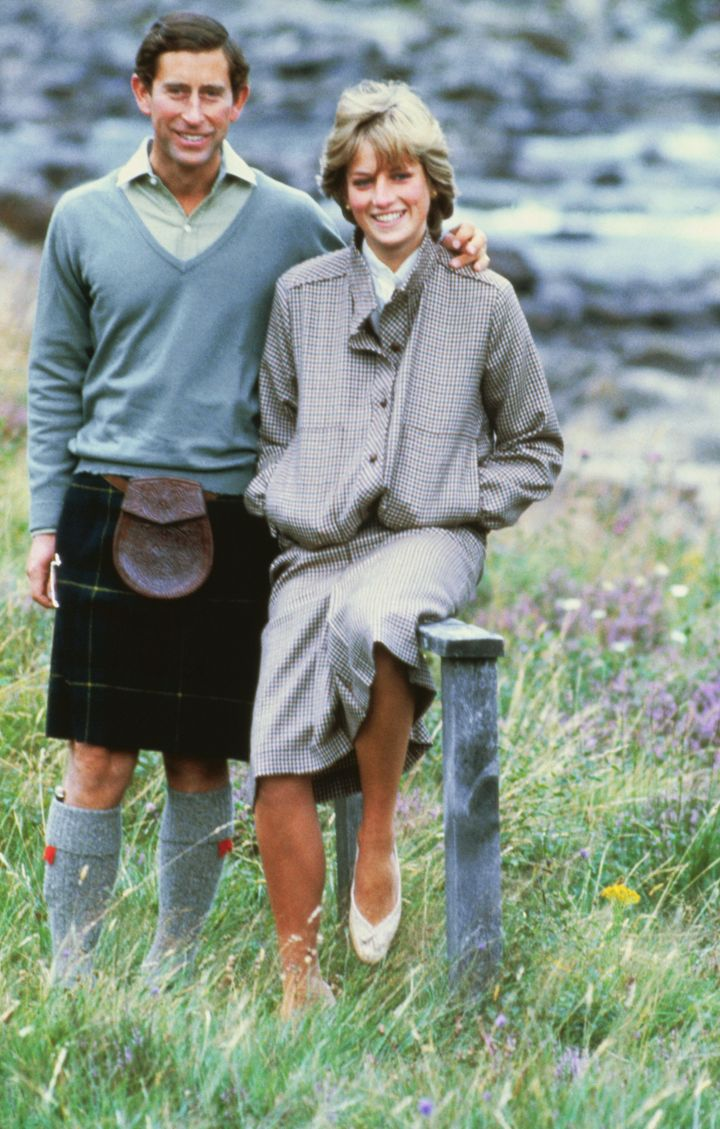 Diana and Charles, 1981.