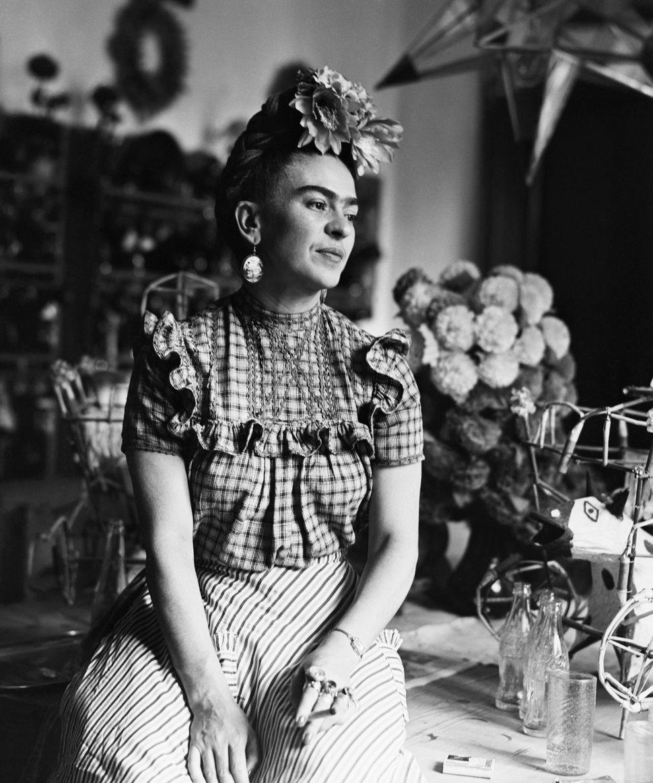 Frida Kahlo circa 1944.