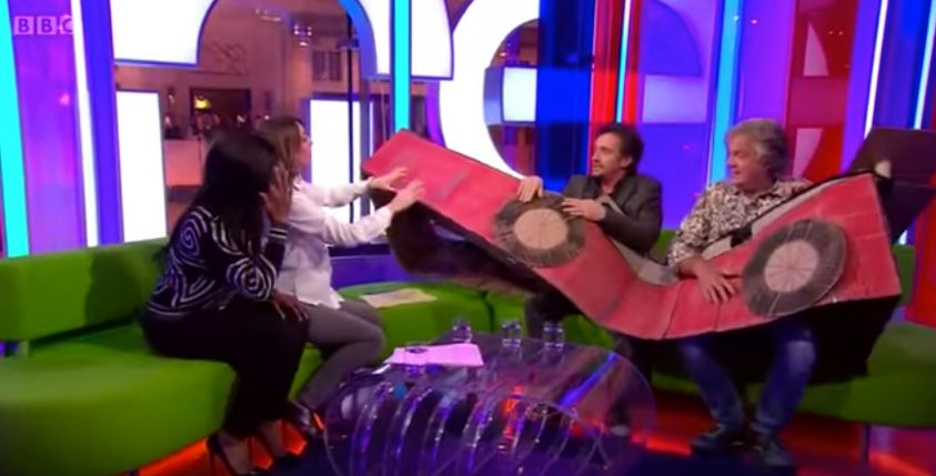 Jeremy Clarkson Mocks His 'Grand Tour' Co-Hosts' In Awkward 'One Show'