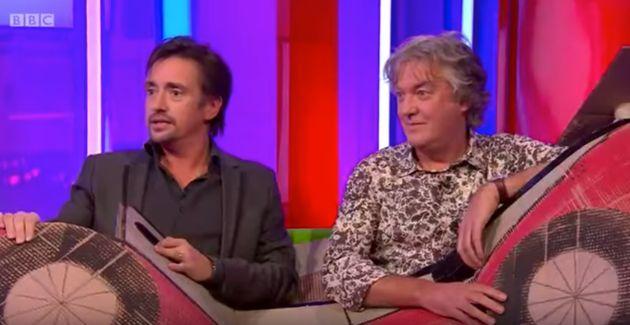 Richard Hammond and James