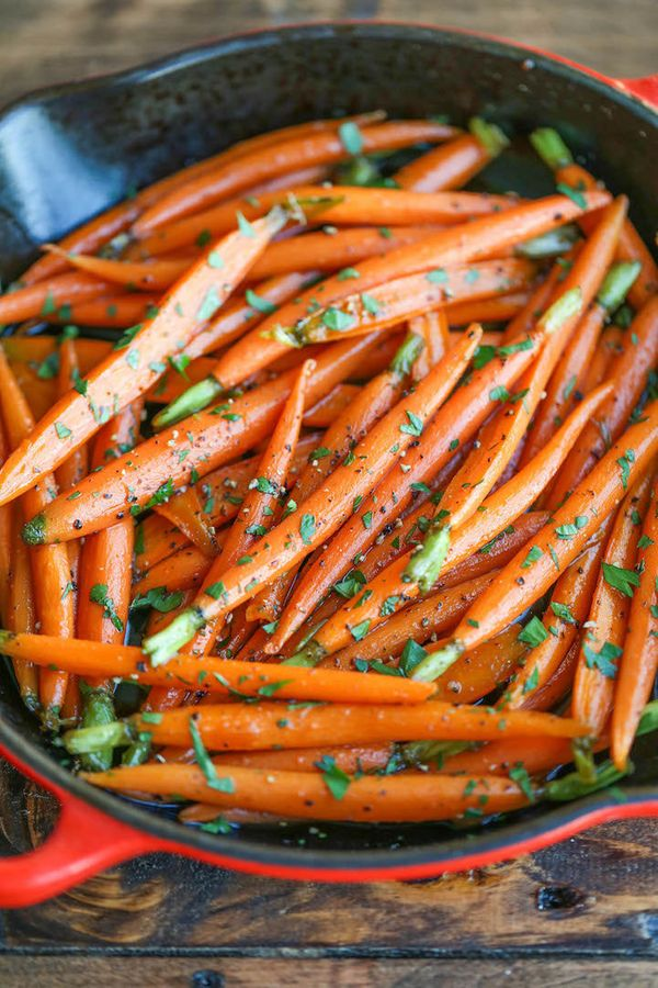 "<strong>Get the <a href=""http://damndelicious.net/2015/11/18/cinnamon-brown-sugar-carrots/"" target=""_blank"">Cinnamon Brown Su"