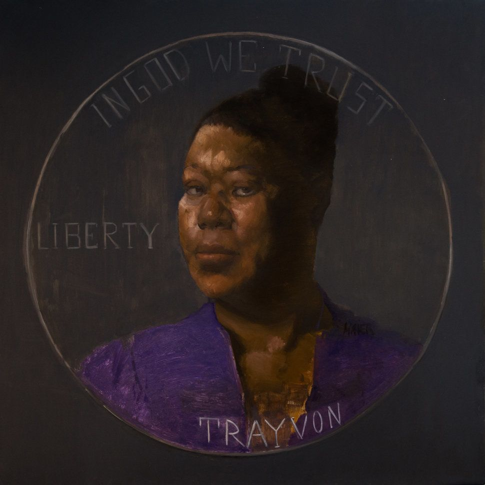 "Sylvia Maier, ""Sybrina Fulton, mother of Trayvon Martin."""