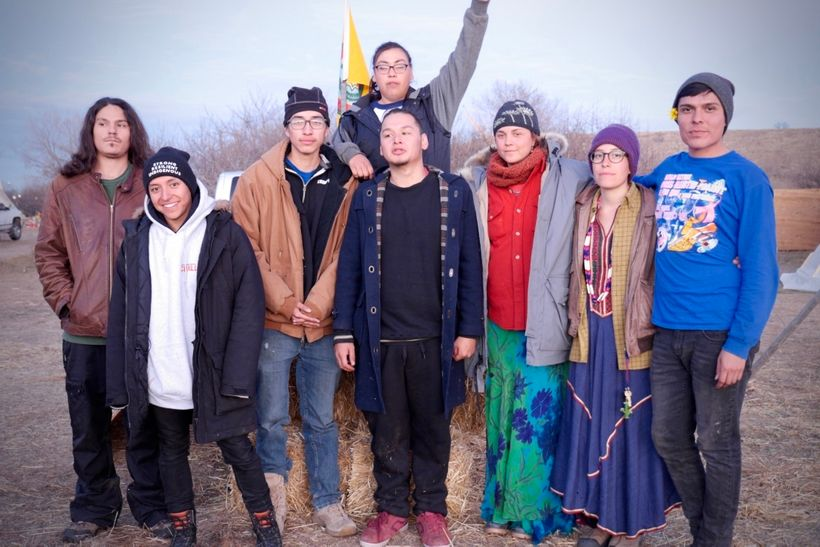 TAKEN BY ELVIA MENDOZA Members of the International Indigenous Youth Council have come from all over the country to provide leadership at Standing Rock.