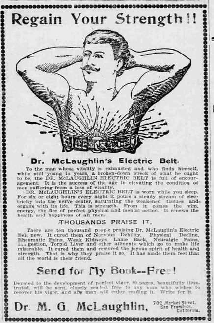 An 1901 advertisement in <em>The Pacific Commercial Advertiser</em>